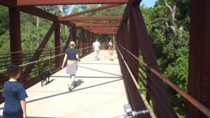 Metal Bridge on Murfreesboro Greenway-02