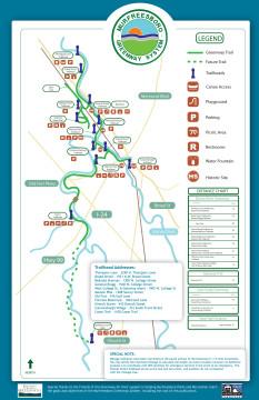 Murfreesboro Greenway Map