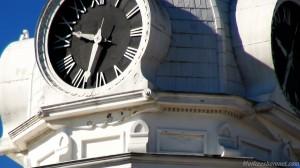 Clock Close Up Murfreesboro Public Square Fall 2012 Images