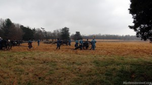 Cannons in Position Battle of Stones River Images