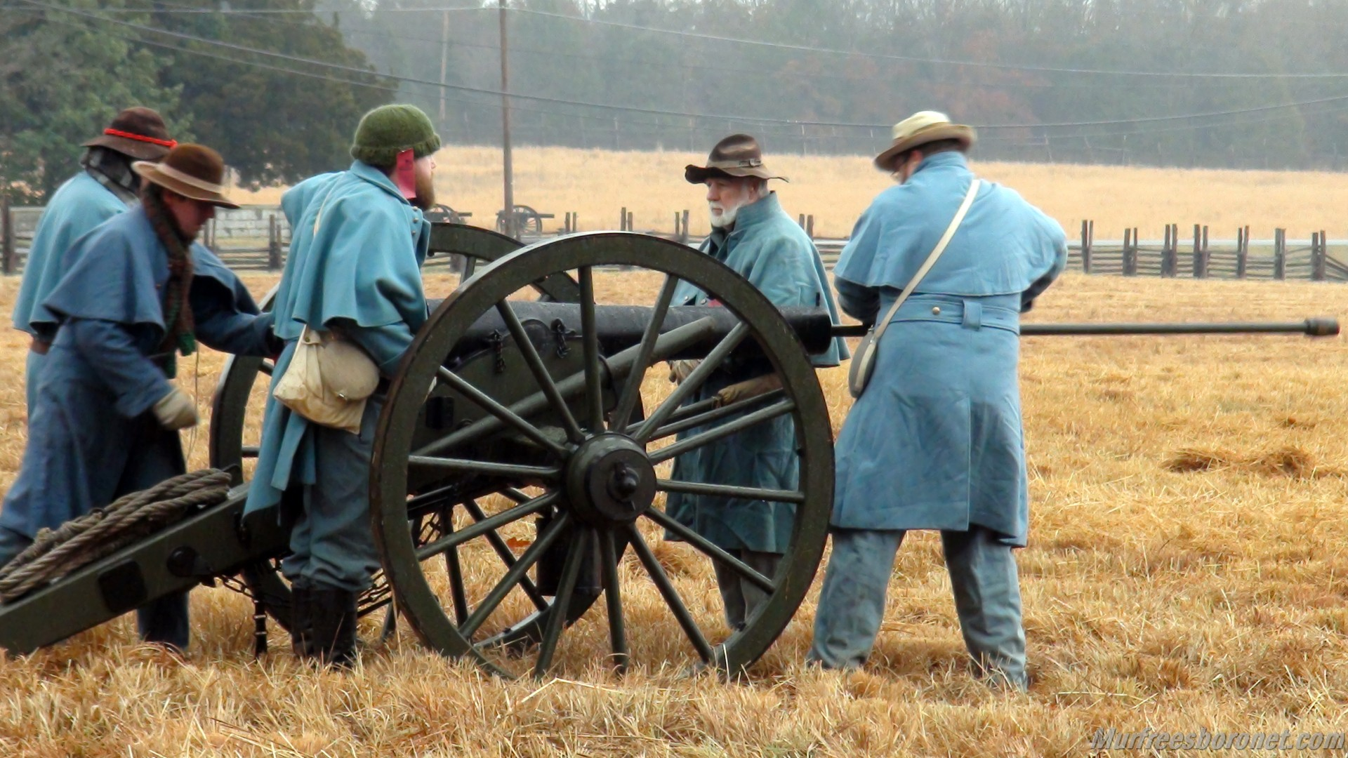 Prepping Cannons Battle of Stones River Images