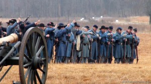 Reloading Muskets Battle of Stones River Images