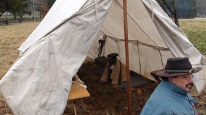 Union Dog in Medic Tent Battle of Stones River Images