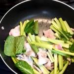 How to cook Komatsuna